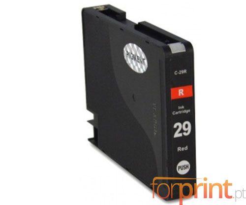 Compatible Ink Cartridge Canon PGI-29 Red 36ml