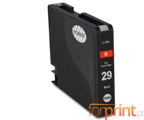 Compatible Ink Cartridge Canon PGI-29 Red 36ml