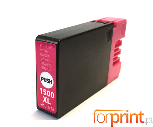 Compatible Ink Cartridge Canon PGI-1500 XLM Magenta 11.5ml