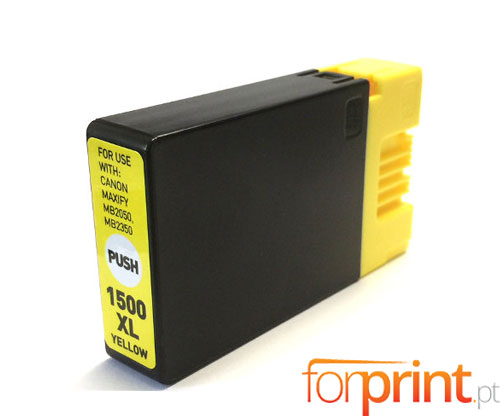 Compatible Ink Cartridge Canon PGI-1500 XLY Yellow 11.5ml