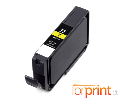 Compatible Ink Cartridge Canon PGI-72 Yellow 14ml
