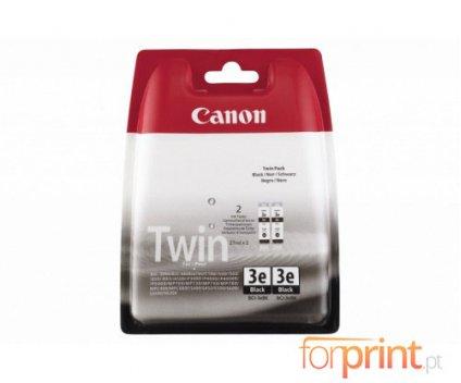 2 Original Ink Cartridges, Canon BCI-3 EBK Black 27ml ~ 500 Pages