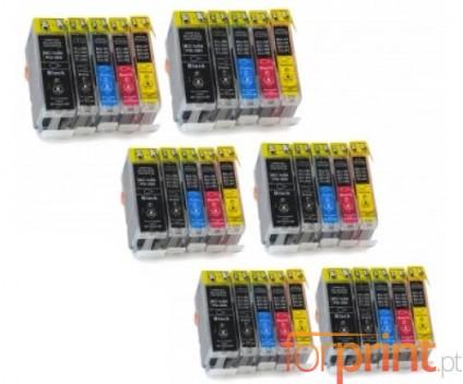 30 Compatible Ink Cartridges, Canon BCI-3 / BCI-6 Black 26.8ml + Color 13.4ml