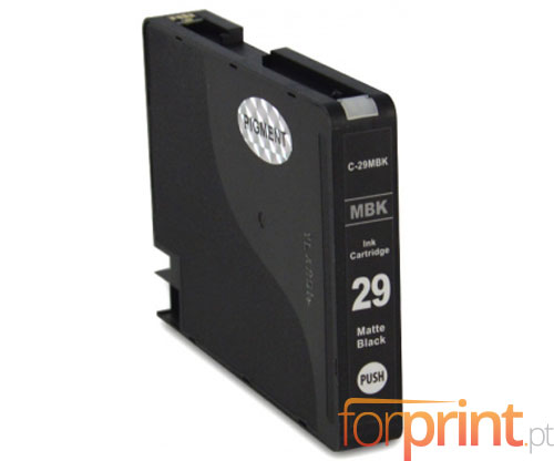 Compatible Ink Cartridge Canon PGI-29 Black Matte 36ml