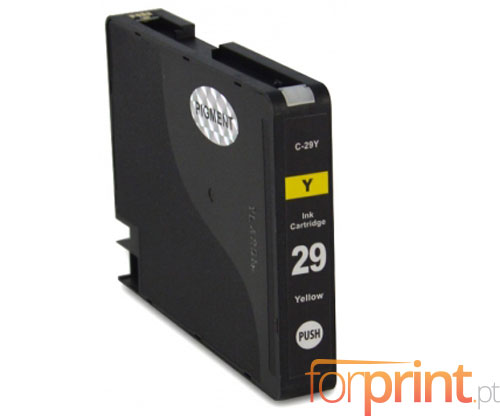 Compatible Ink Cartridge Canon PGI-29 Yellow 36ml
