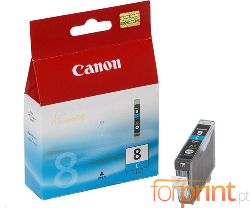 Original Ink Cartridge Canon CLI-8 Cyan 13ml ~ 420 Pages