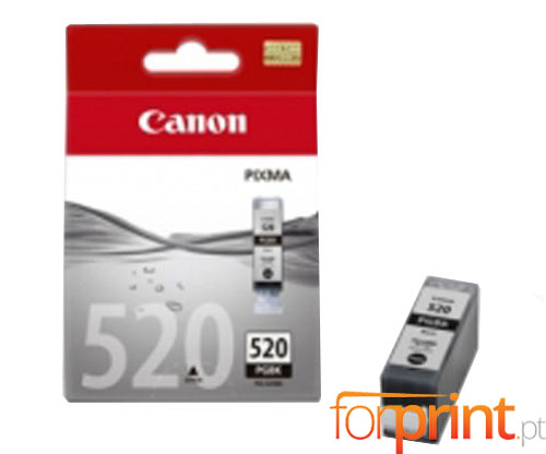 Original Ink Cartridge Canon PGI-520 Black 19ml ~ 324 Pages