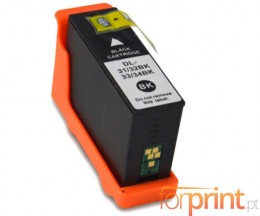Compatible Ink Cartridge DELL 31 / 32 / 33 / 34 Black 28ml