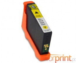 Compatible Ink Cartridge DELL 31 / 32 / 33 / 34 Yellow 15ml