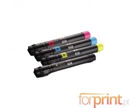 4 Compatible Toners, DELL 5931087X Black + Color ~ 19.000 / 20.000 Pages