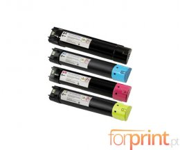 4 Compatible Toners, DELL 593BBCB-593BBCX Black + Color ~ 18.000 / 12.000 Pages