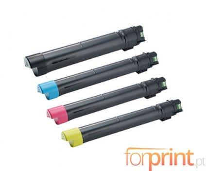 4 Compatible Toners, DELL J6DTH / 6YJGD / 8N8JV / F5Y6V Black + Color ~ 26.000 / 15.000 Pages