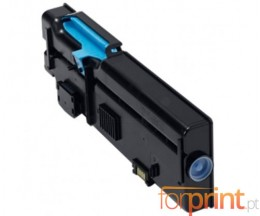 Compatible Toner DELL 593BBBT / 488NH Cyan ~ 4.000 Pages