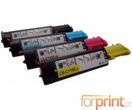 4 Compatible Toners, DELL 5931015X Black + Color ~ 2.000 Pages