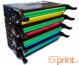 4 Compatible Toners, DELL 5931036X Black + Color ~ 5.500 / 5.000 Pages