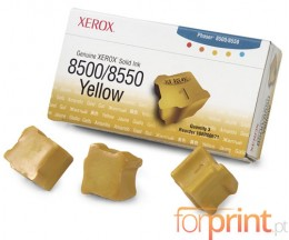 3 Original ColorSticks, Xerox 108R00671 Yellow ~ 3.000 Pages