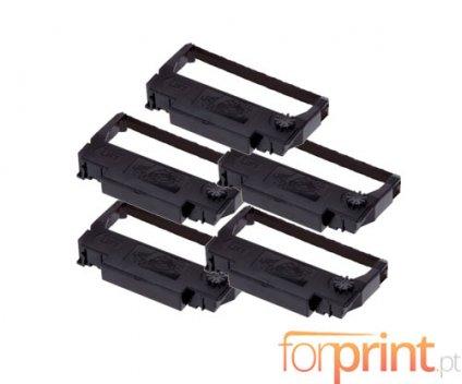 5 Compatible Tapes, Epson ERC-38BK Black