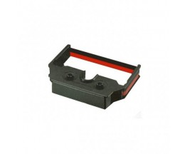 Compatible tape Epson S015425 Black / Red