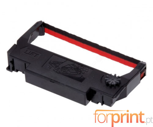 Compatible Tape Epson ERC-38BK / R Black / Red