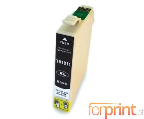 Compatible Ink Cartridge Epson T1801 / T1811 Black 17ml