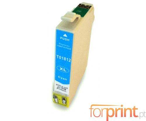 Compatible Ink Cartridge Epson T1802 / T1812 Cyan 13ml