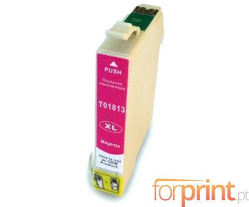 Compatible Ink Cartridge Epson T1803 / T1813 Magenta 13ml