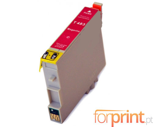 Compatible Ink Cartridge Epson T0483 Magenta 18ml