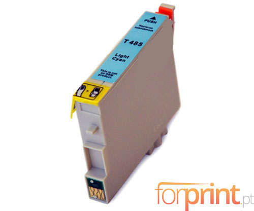 Compatible Ink Cartridge Epson T0485 Cyan bright 18ml