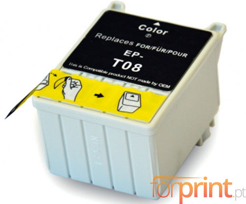 Compatible Ink Cartridge Epson T008 Color 43ml