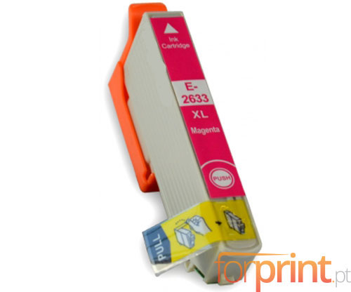 Compatible Ink Cartridge Epson T2613 / T2633 Magenta 13ml