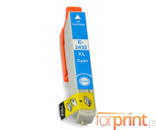 Compatible Ink Cartridge Epson T2422 / T2432 Cyan 13ml
