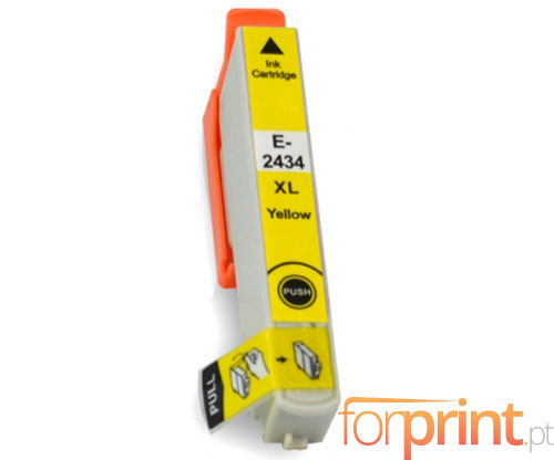Compatible Ink Cartridge Epson T2424 / T2434 Yellow 13ml