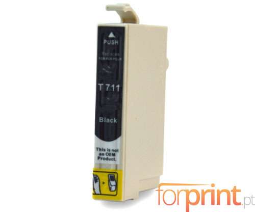 Compatible Ink Cartridge Epson T0711 / T0891 Black 13ml