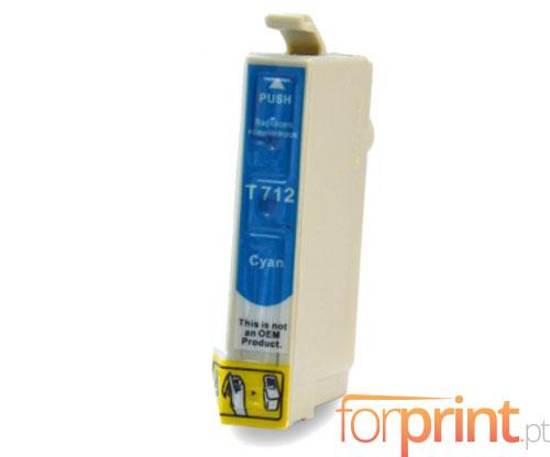 Compatible Ink Cartridge Epson T0712 / T0892 Cyan 13ml