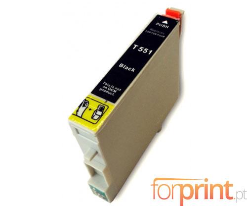 Compatible Ink Cartridge Epson T0551 Black 17ml