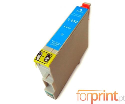 Compatible Ink Cartridge Epson T0552 Cyan 16ml
