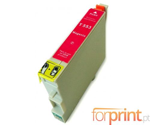 Compatible Ink Cartridge Epson T0553 Magenta 16ml