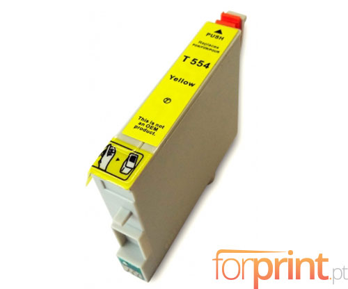Compatible Ink Cartridge Epson T0554 Yellow 16ml