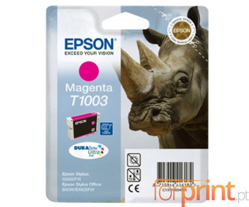 Original Ink Cartridge Epson T1003 Magenta 11.1ml ~ 625 Pages