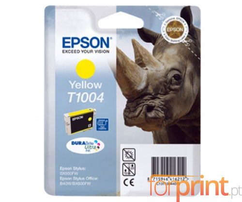 Original Ink Cartridge Epson T1004 Yellow 11.1ml ~ 990 Pages