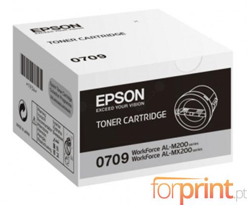 Original Toner Epson S050709 Black ~ 2.500 Pages