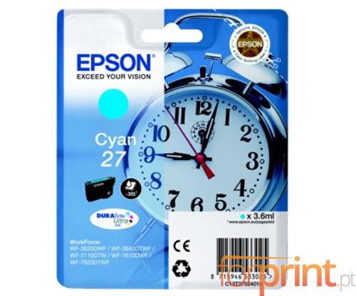 Original Ink Cartridge Epson T2702 Cyan 3.6ml