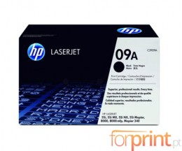 Original Toner HP 09A Black ~ 15.000 Pages