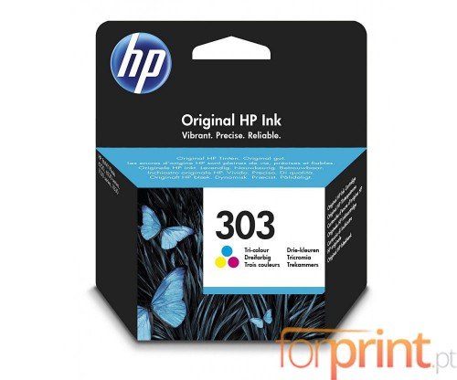 Original Ink Cartridge HP 303 Color 4ml