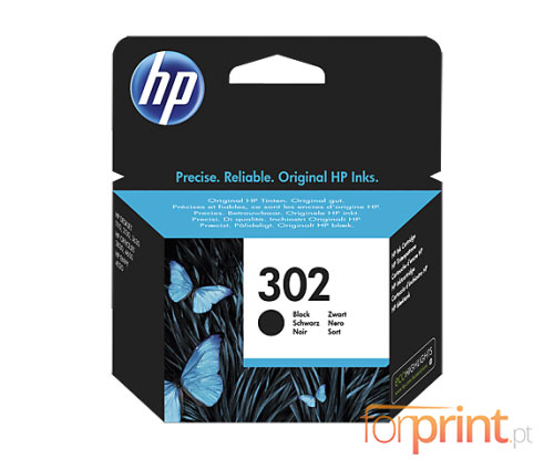 Original Ink Cartridge HP 302 Black 3,5ml ~ 190 Pages