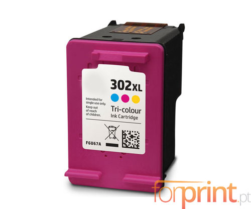 Compatible Ink Cartridge HP 302 XL Color 18ml