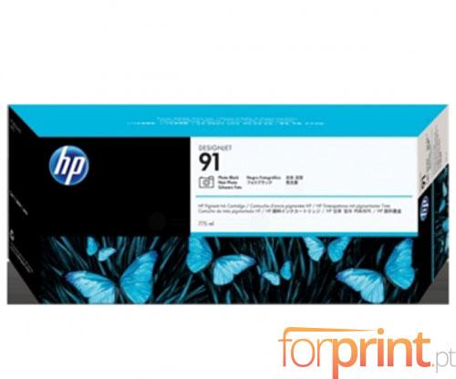 Original Ink Cartridge HP 91 Black Photo 775ml