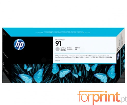 Original Ink Cartridge HP 91 Grey bright 775ml