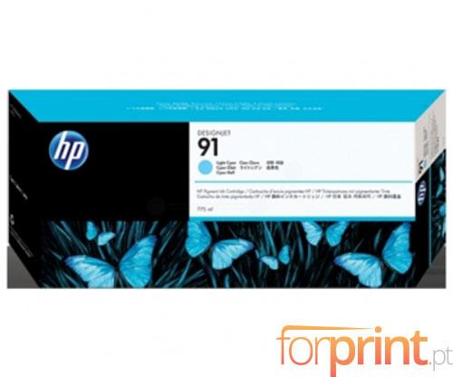 Original Ink Cartridge HP 91 Cyan bright 775ml