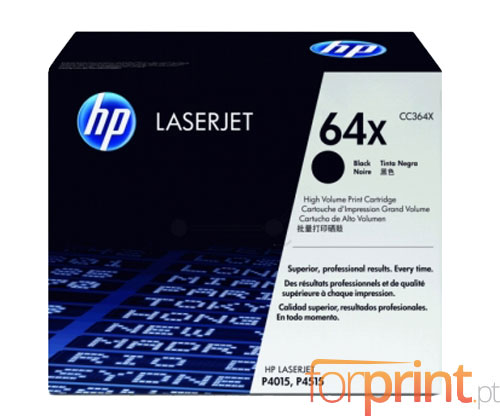 Original Toner HP 64X Black ~ 24.000 Pages